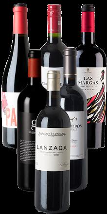 Vino-Tinto-Kennenlernpaket - 6er